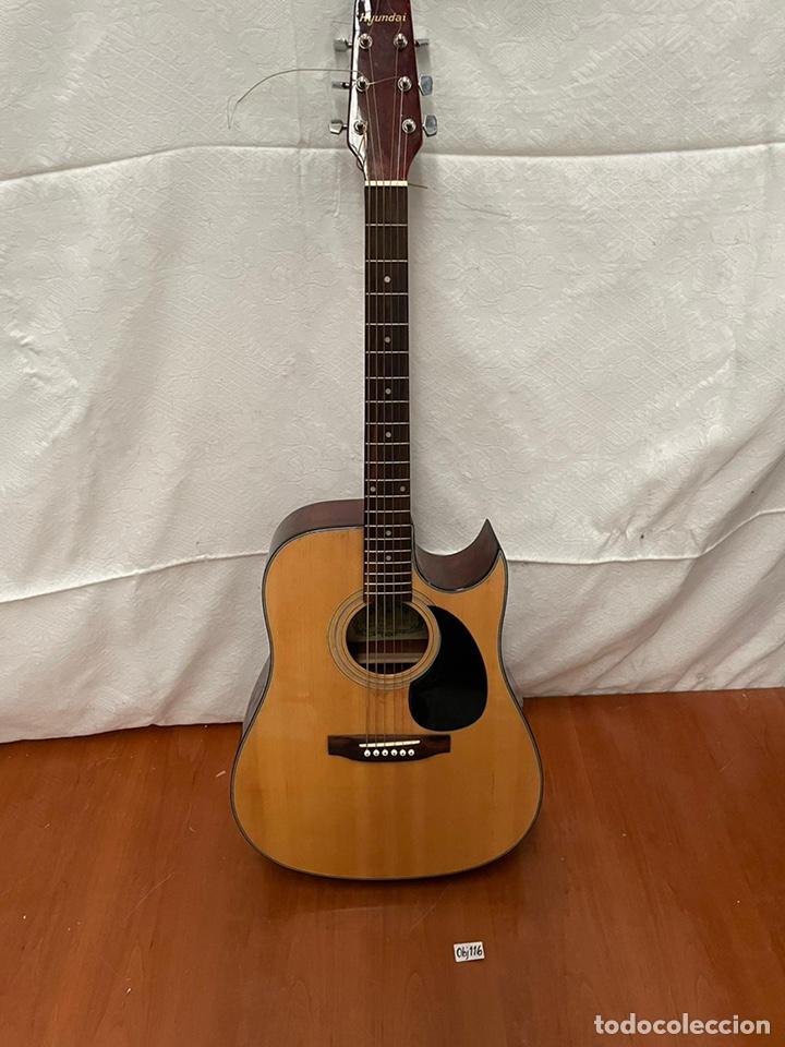 Instrumentos musicales: Guitarra Hyundai Modelo HD -815 - Foto 3 - 237328440