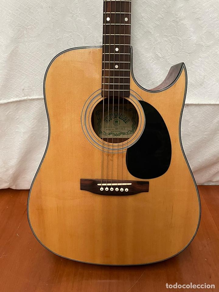 Instrumentos musicales: Guitarra Hyundai Modelo HD -815 - Foto 6 - 237328440