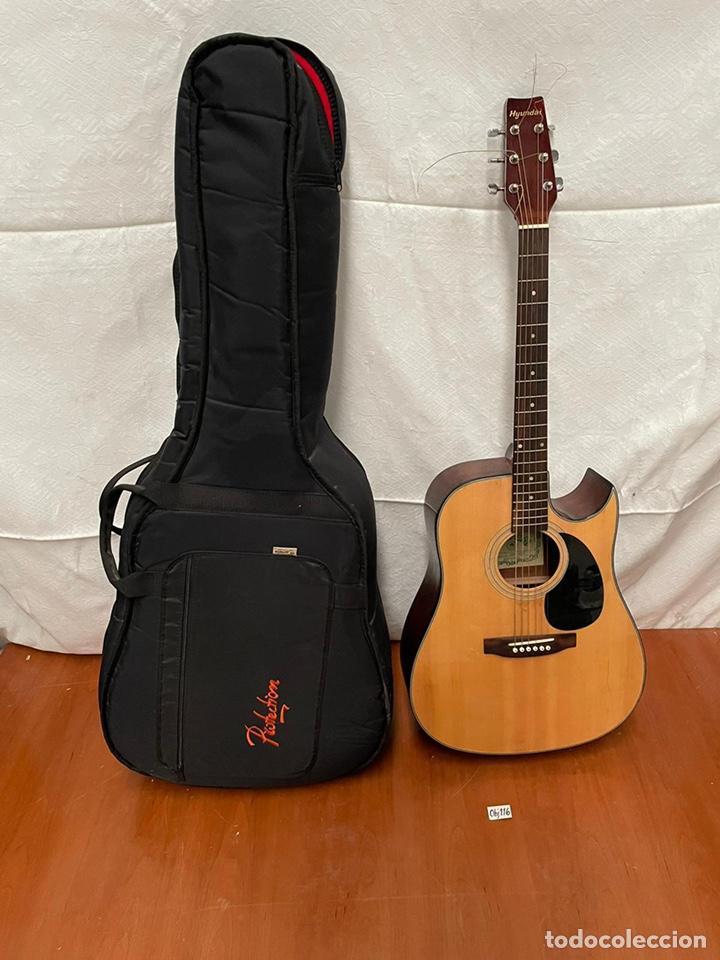 GUITARRA HYUNDAI MODELO HD -815 (Música - Instrumentos Musicales - Guitarras Antiguas)