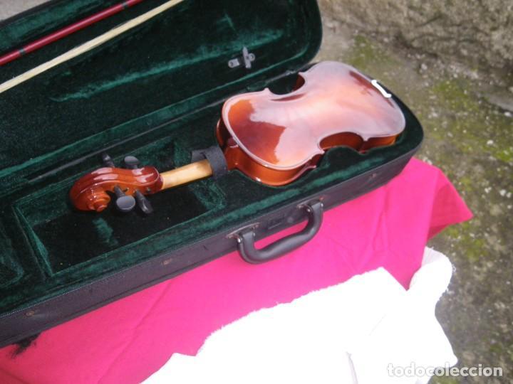 Instrumentos musicales: VIOLIN EN BUEN ESTADO DE LA CONOCIDA MARCA MAXTONE VERR - Foto 16 - 237337715