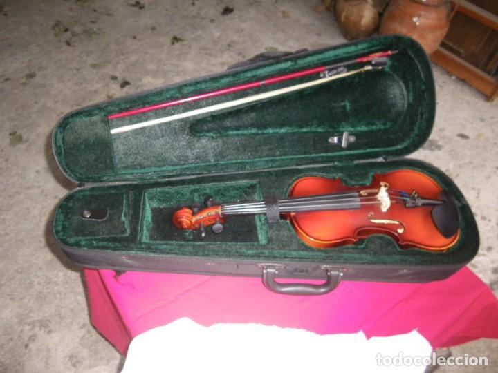 Instrumentos musicales: VIOLIN EN BUEN ESTADO DE LA CONOCIDA MARCA MAXTONE VERR - Foto 2 - 237337715