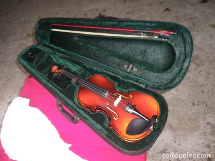 Instrumentos musicales: VIOLIN EN BUEN ESTADO DE LA CONOCIDA MARCA MAXTONE VERR - Foto 3 - 237337715