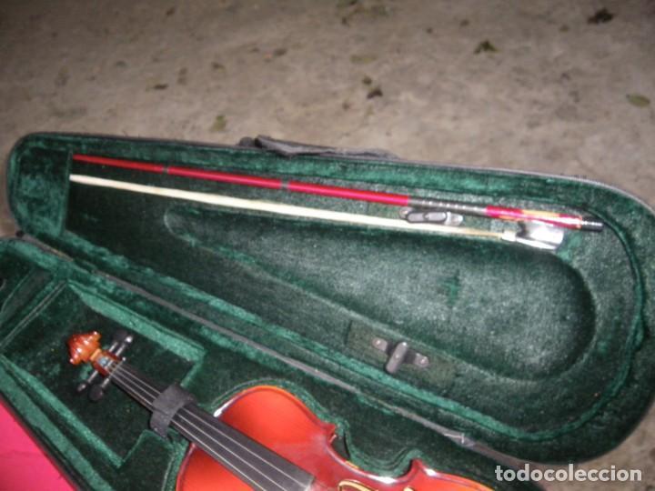 Instrumentos musicales: VIOLIN EN BUEN ESTADO DE LA CONOCIDA MARCA MAXTONE VERR - Foto 4 - 237337715