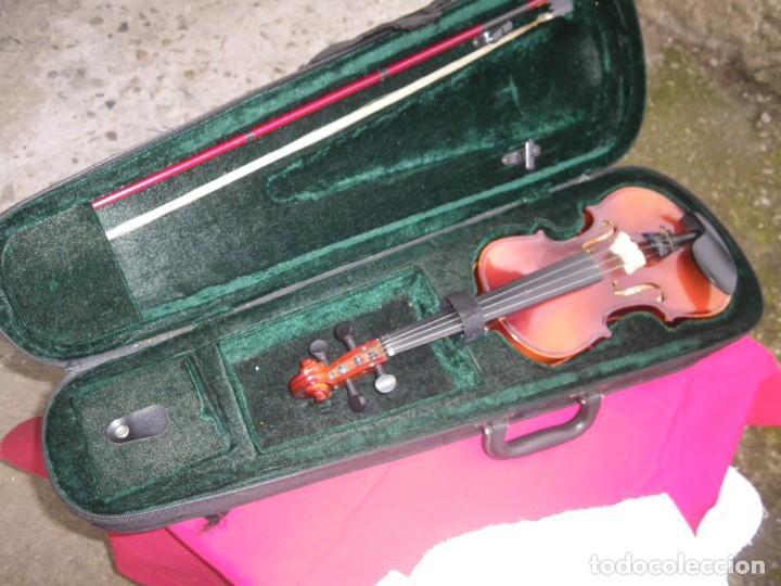 Instrumentos musicales: VIOLIN EN BUEN ESTADO DE LA CONOCIDA MARCA MAXTONE VERR - Foto 5 - 237337715
