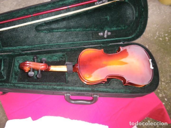 Instrumentos musicales: VIOLIN EN BUEN ESTADO DE LA CONOCIDA MARCA MAXTONE VERR - Foto 7 - 237337715