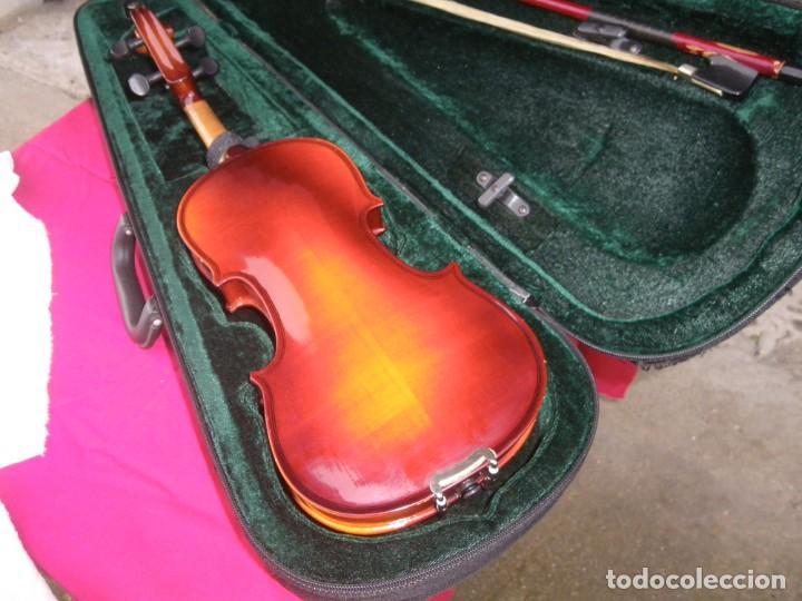 Instrumentos musicales: VIOLIN EN BUEN ESTADO DE LA CONOCIDA MARCA MAXTONE VERR - Foto 9 - 237337715