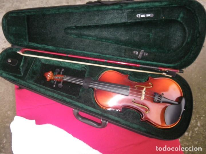 Instrumentos musicales: VIOLIN EN BUEN ESTADO DE LA CONOCIDA MARCA MAXTONE VERR - Foto 10 - 237337715