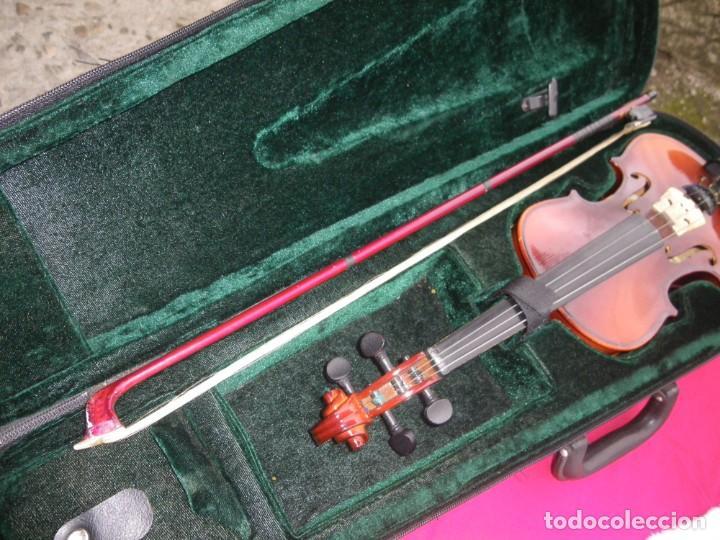 Instrumentos musicales: VIOLIN EN BUEN ESTADO DE LA CONOCIDA MARCA MAXTONE VERR - Foto 11 - 237337715