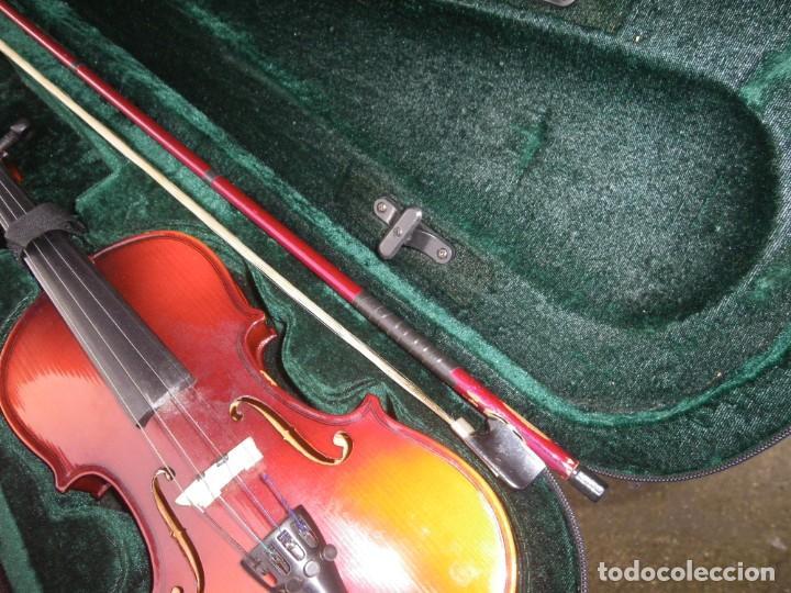 Instrumentos musicales: VIOLIN EN BUEN ESTADO DE LA CONOCIDA MARCA MAXTONE VERR - Foto 12 - 237337715