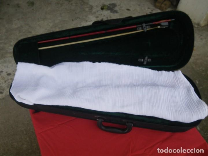 Instrumentos musicales: VIOLIN EN BUEN ESTADO DE LA CONOCIDA MARCA MAXTONE VERR - Foto 14 - 237337715