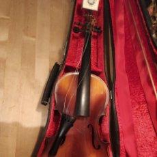 Instruments Musicaux: VIOLÍN ANTONIUS STRADIVARIUS CREMONA MADE IN CZECHOSLOVAKIA. Lote 237500440