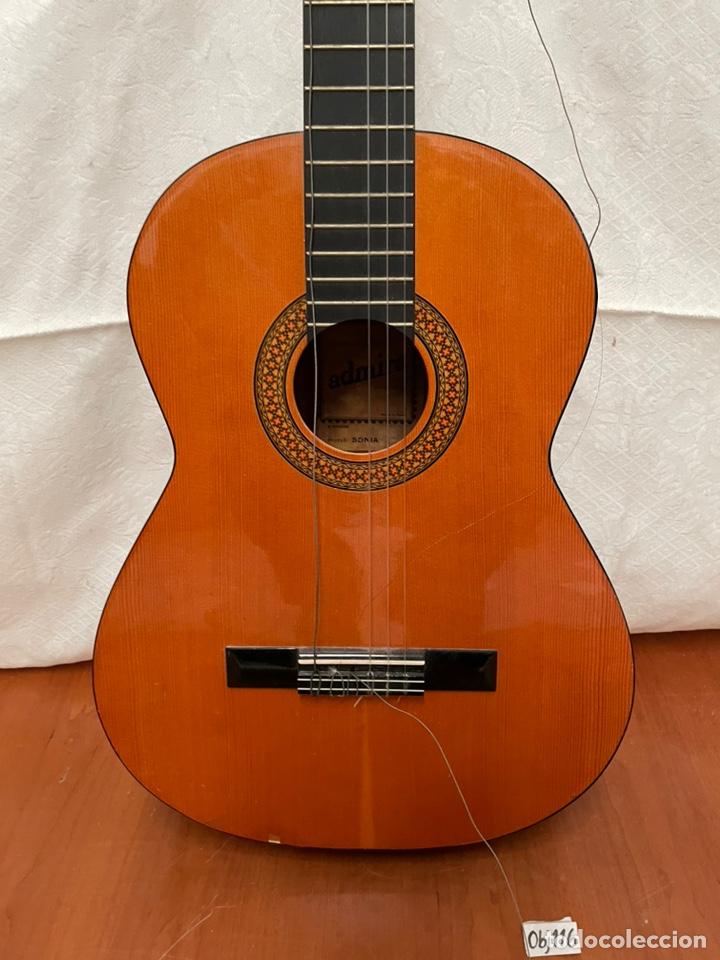 Instrumentos musicales: GUITARRA ADMIRAL - Foto 2 - 237687165