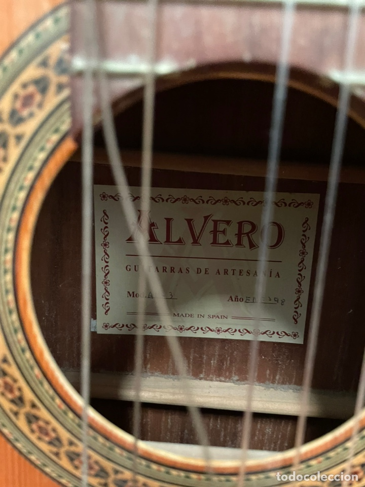 Instrumentos musicales: GUITARRA ALVERO - Foto 3 - 237687445