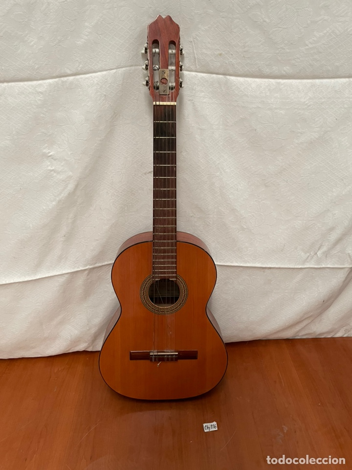 GUITARRA ALVERO (Música - Instrumentos Musicales - Guitarras Antiguas)