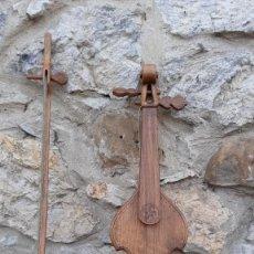 Instrumentos Musicais: RABEL ARTESANO DE MADERA DE CEDRO. Lote 237779945