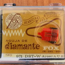 Instrumentos musicales: AGUJA TOCADISCOS AYOMI - FOX 971 - DST-W - DIAMANTE. Lote 237870980