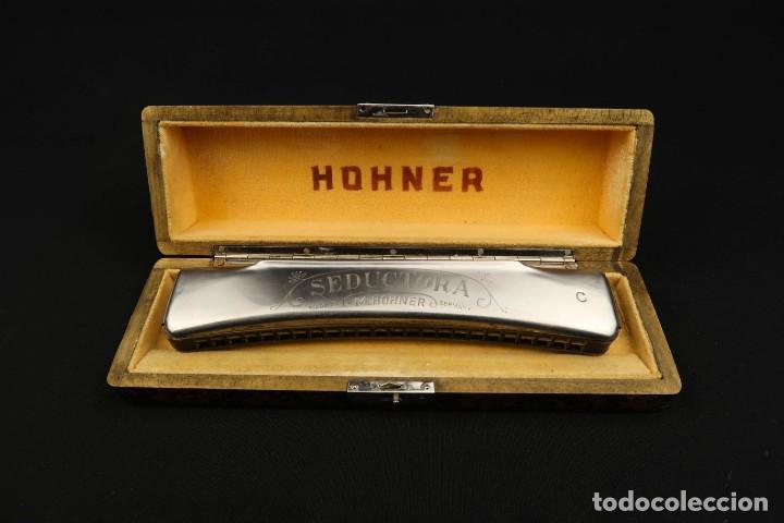 Instrumentos musicales: Antigua Armonica Alemana M. Honner - Foto 4 - 237898440