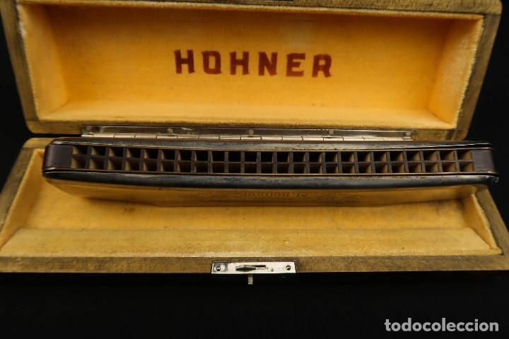 Instrumentos musicales: Antigua Armonica Alemana M. Honner - Foto 9 - 237898440