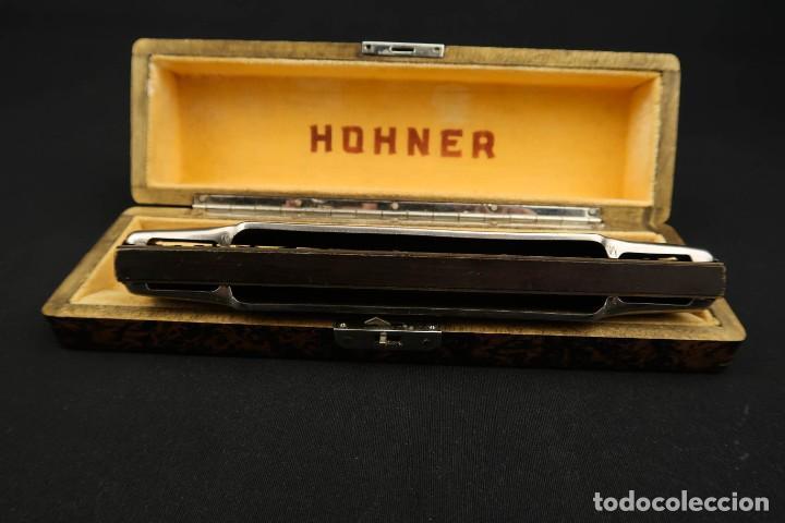 Instrumentos musicales: Antigua Armonica Alemana M. Honner - Foto 10 - 237898440