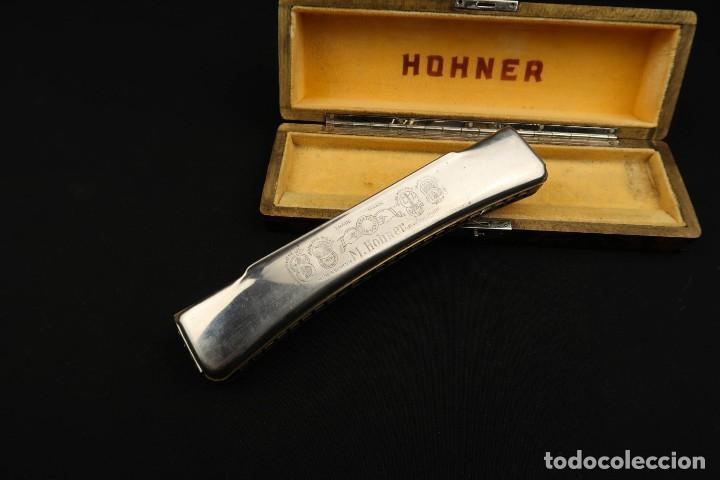 Instrumentos musicales: Antigua Armonica Alemana M. Honner - Foto 11 - 237898440