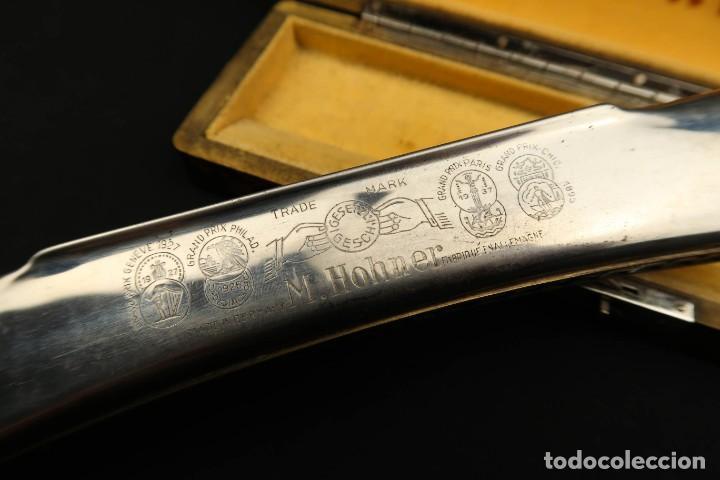 Instrumentos musicales: Antigua Armonica Alemana M. Honner - Foto 12 - 237898440