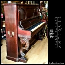 Instrumentos musicales: PIANO VERTICAL MALAGUEÑO ANTIGUO COMIENZOS SIGLO XX (MÁS DE 100 AÑOS) FABRICADO POR LÓPEZ Y GRIFFO. Lote 225873165