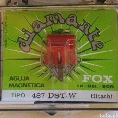 Instrumentos Musicais: AGUJA TOCADISCOS FOX- 487-DST-W/DIAMANTE. Lote 238608530
