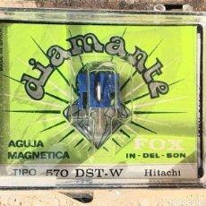 Instruments Musicaux: AGUJA TOCADISCOS HITACHI - FOX 570 DZT-W/DIAMANTE. Lote 238752735