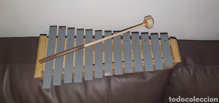 Instrumentos musicales: XILÓFONO CARILLÓN SOPRANO PERCUSIÓN DIATÓNICO MARCA HONSUY MADE IN SPAIN - Foto 2 - 238872845