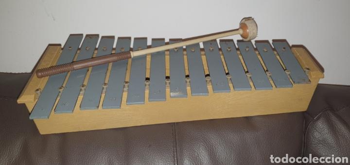 Instrumentos musicales: XILÓFONO CARILLÓN SOPRANO PERCUSIÓN DIATÓNICO MARCA HONSUY MADE IN SPAIN - Foto 4 - 238872845