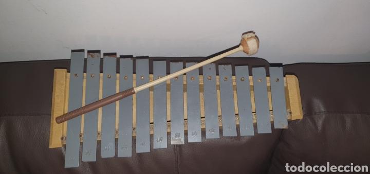 Instrumentos musicales: XILÓFONO CARILLÓN SOPRANO PERCUSIÓN DIATÓNICO MARCA HONSUY MADE IN SPAIN - Foto 7 - 238872845