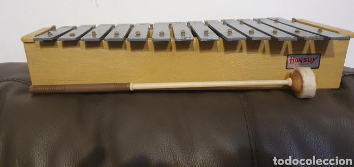 Instrumentos musicales: XILÓFONO CARILLÓN SOPRANO PERCUSIÓN DIATÓNICO MARCA HONSUY MADE IN SPAIN - Foto 11 - 238872845
