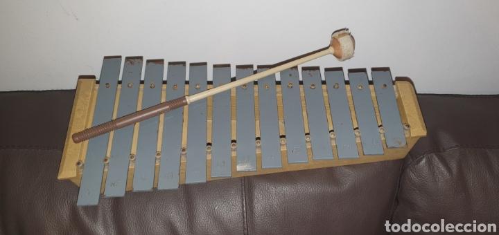 XILÓFONO CARILLÓN SOPRANO PERCUSIÓN DIATÓNICO MARCA HONSUY MADE IN SPAIN (Música - Instrumentos Musicales - Percusión)