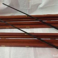 Instruments Musicaux: 2 BATUTAS DIRECTOR ORQUESTA CON ESTUCHE. Lote 239756980