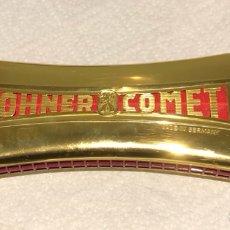 Instrumentos musicales: MAGNIFICA HARMONICA HOHNER COMET, COMO NUEVA. Lote 240714470