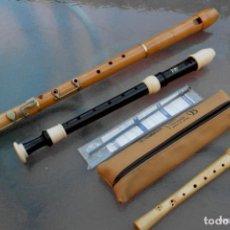 Instrumentos musicales: FLAUTA TENOR, DIGITACIÓN BARROCA MOECK.. Lote 240850725