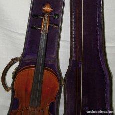 Instrumentos musicales: VIOLIN MARCA AL FUEGO VINCENZO RUGIERI CREMONA 1727. ARCO-ESTUCHE-CAOBA-ÉBANO-MADREPERLA-PLATA-HUESO. Lote 240975575