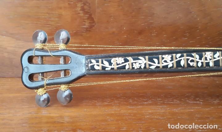 Instrumentos musicales: MANDOLINA MINIATURA CAJA MUSICAL CUERDA FUNCIONA - PINTADA A MANO - IGNORO MATERIAL- PERFECTO ESTADO - Foto 2 - 241011270