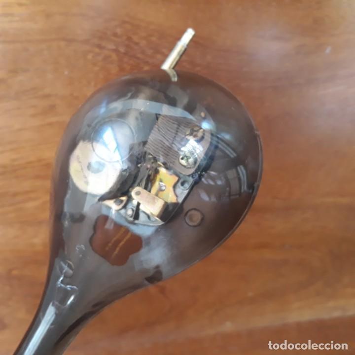 Instrumentos musicales: MANDOLINA MINIATURA CAJA MUSICAL CUERDA FUNCIONA - PINTADA A MANO - IGNORO MATERIAL- PERFECTO ESTADO - Foto 5 - 241011270