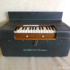 Instrumentos musicales: ANTIGUO ARMONIO DE VIENTO FRANCES LE GUIDE CHANT KARSIEL PORTATIL. Lote 241273885