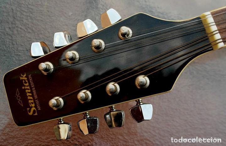 Instrumentos musicales: Mandolina electro-acústica Samick. Greg Bennet. - Foto 8 - 241718345
