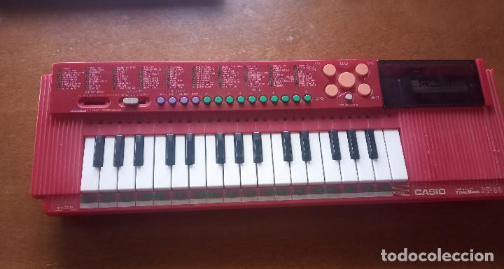 TECLADO CASIO PT-88 COREA ROJO FUNCIONA (Música - Instrumentos Musicales - Teclados Eléctricos y Digitales)