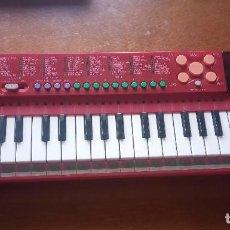 Instruments Musicaux: TECLADO CASIO PT-88 COREA ROJO FUNCIONA. Lote 242044930
