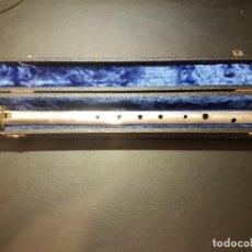 Instrumentos musicales: FLAUTA DE PICO SOPRANO HOPF SILBERTON. Lote 242494830