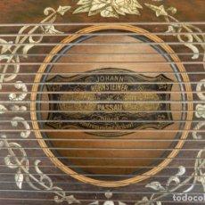Instrumentos musicales: CÍTARA DEL LUTHIER JOHANN HORNSTEINER, (C. 1880. PASSAU). Lote 243261680