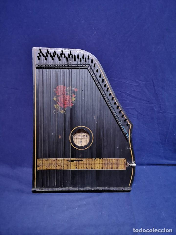 CITARA ALEMANA (Música - Instrumentos Musicales - Guitarras Antiguas)