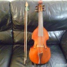 Instruments Musicaux: VIOLA DA GAMBA ALEMANA SOPRANO.. Lote 243433190