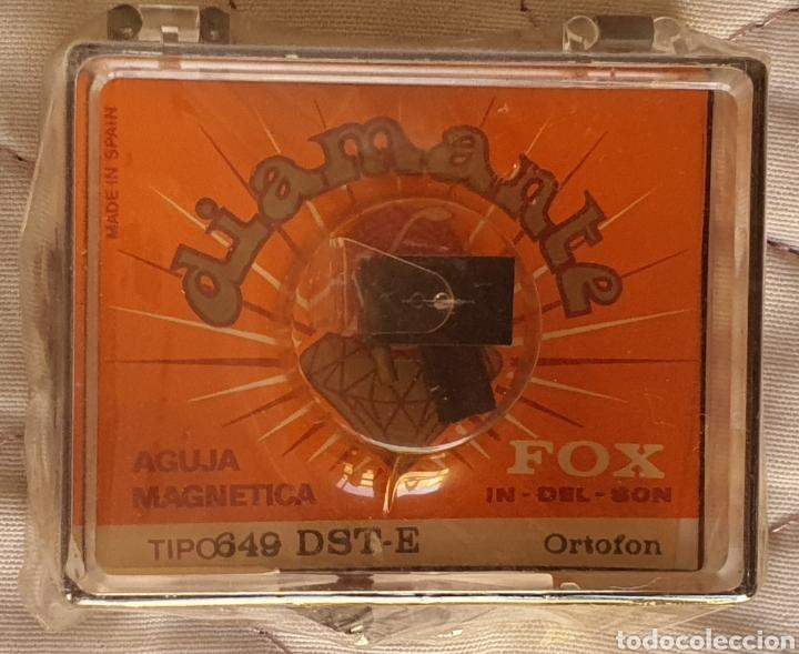 Instrumentos musicales: AGUJA TOCADISCOS ORTOFON - 649 - DST-W/DIAMANTE - Foto 2 - 243668760