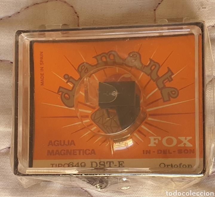 Instrumentos musicales: AGUJA TOCADISCOS ORTOFON - 649 - DST-W/DIAMANTE - Foto 3 - 243668760