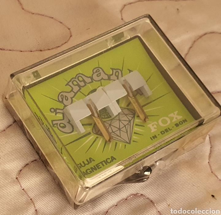 Instrumentos musicales: AGUJAS TOCADISCOS FOX - SHURE 483 - DST - W/DIAMANTE - Foto 2 - 243669505